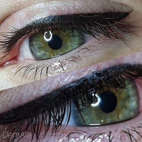 Перманентный макияж глаз классика