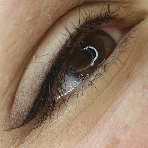 Перманентный макияж глаз /стрелки
